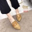 รองเท้าแฟชั่นผู้หญิง พื้นเลียบ หัวแหลม สีน้ำตาล / สีเทา / สีดำ / สีน้ำเงิน thumbnail 5