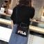 กระเป๋า FILA พร้อมสาย สีดำ สีน้ำตาล สีชมพู สีเทา thumbnail 4