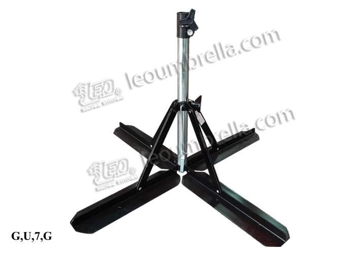 ขาตั้งร่มทรงคล้ายตีนเป็ด(พับเก็บได้) NO.STL50X32ZLK3