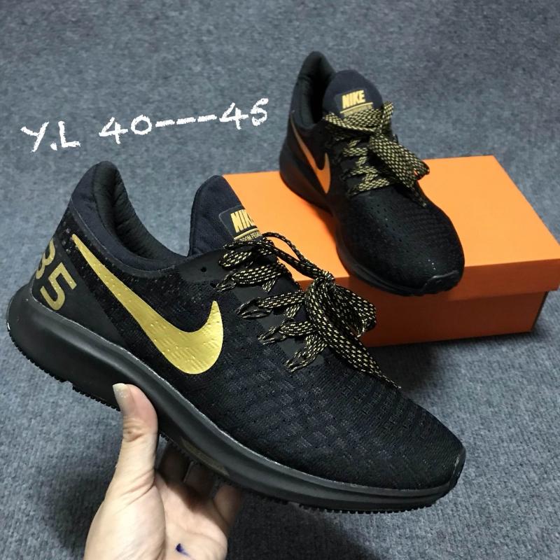 c686b9487 Nike Air Zoom Pegasus 35 Black - Gold - Super Fake - สินค้าดีๆ ราคา ...